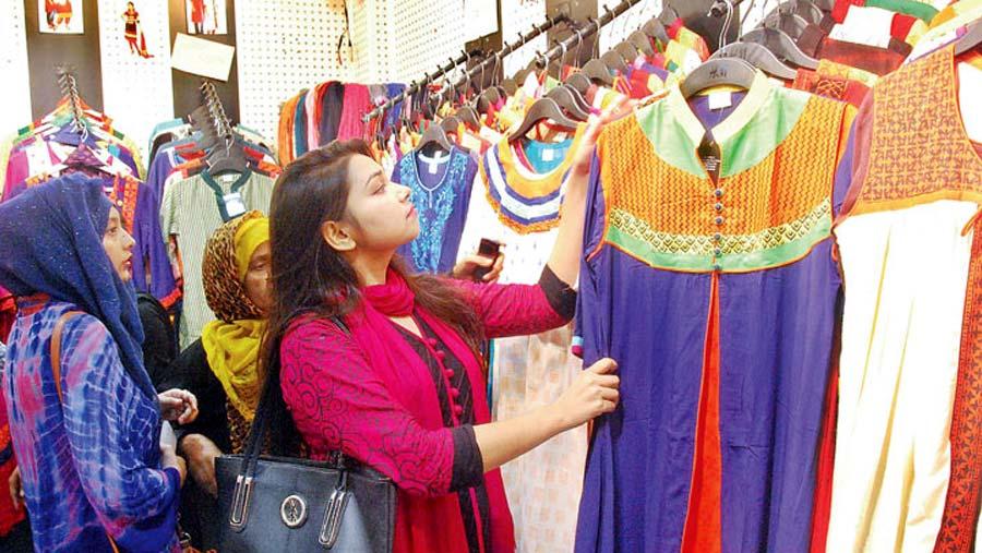 Eid shopping in full swing