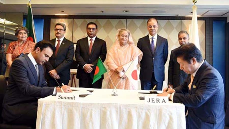 Summit Group and JERA signs MoU