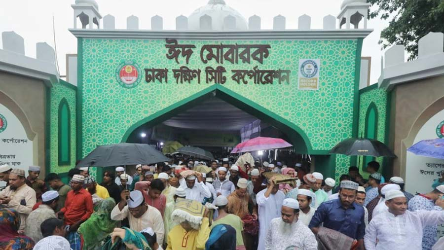 Eid-ul-Fitr celebrated across Bangladesh