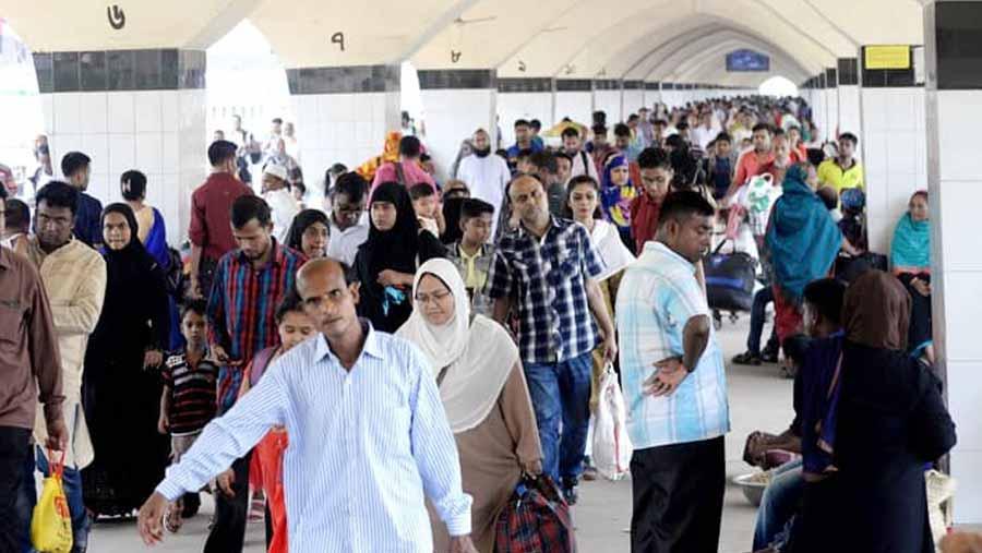 People start returning to Dhaka
