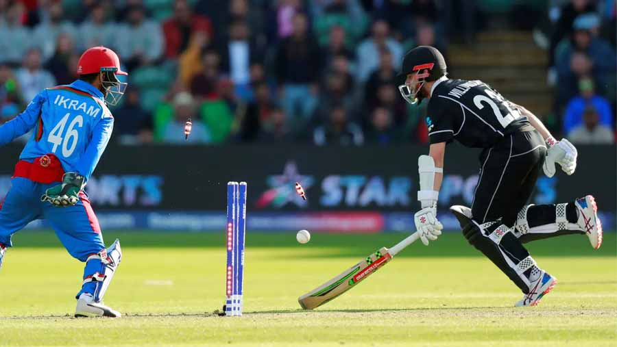NZ beat Afghanistan by 7 wickets