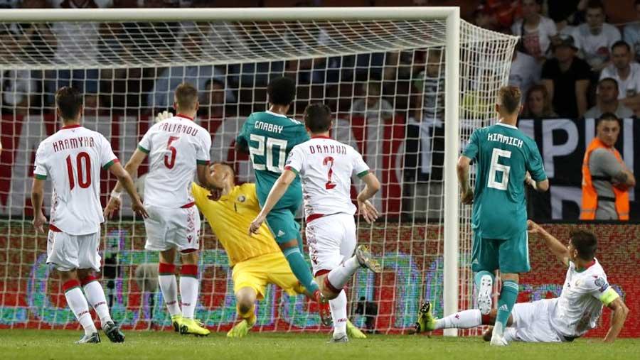 Sane, Reus seal Germany win over Belarus