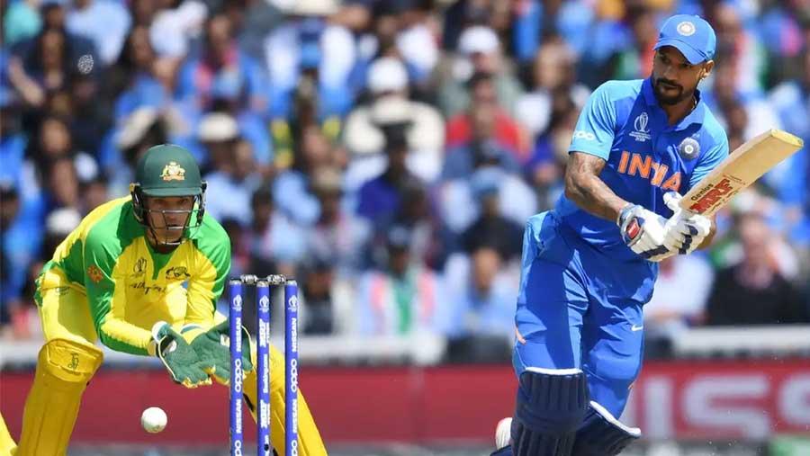 Dhawan shines as India beat Australia