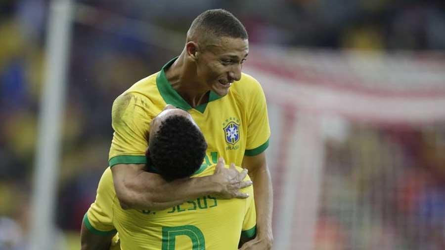 Brazil rout Honduras 7-0 ahead of Copa America