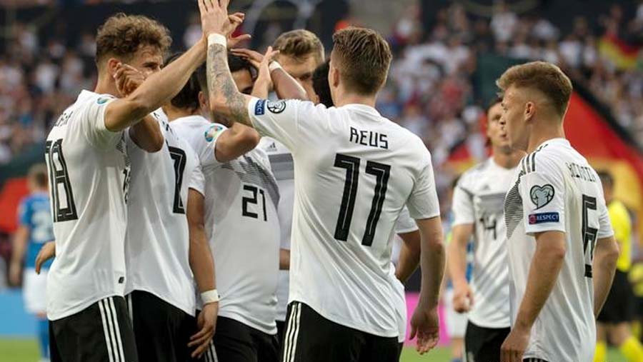 Reus, Gnabry star as Germany put eight past Estonia