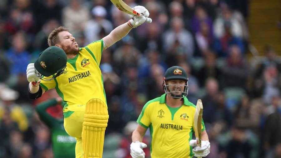 Warner's century sees Australia to win