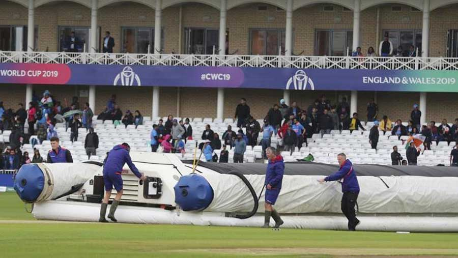 India & NZ frustrated by weather at Cricket World Cup