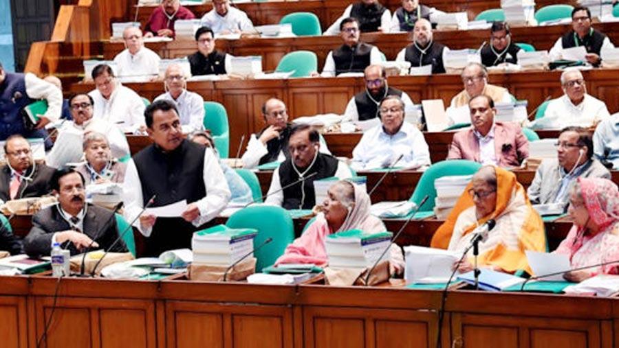 Finance Minister unveils Tk 5,23,190cr budget