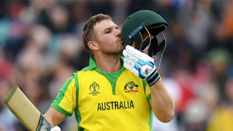 Finch's 153 takes Australia top of table
