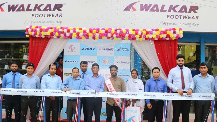 'Walkar' footwear opens 50th outlet in Tangail