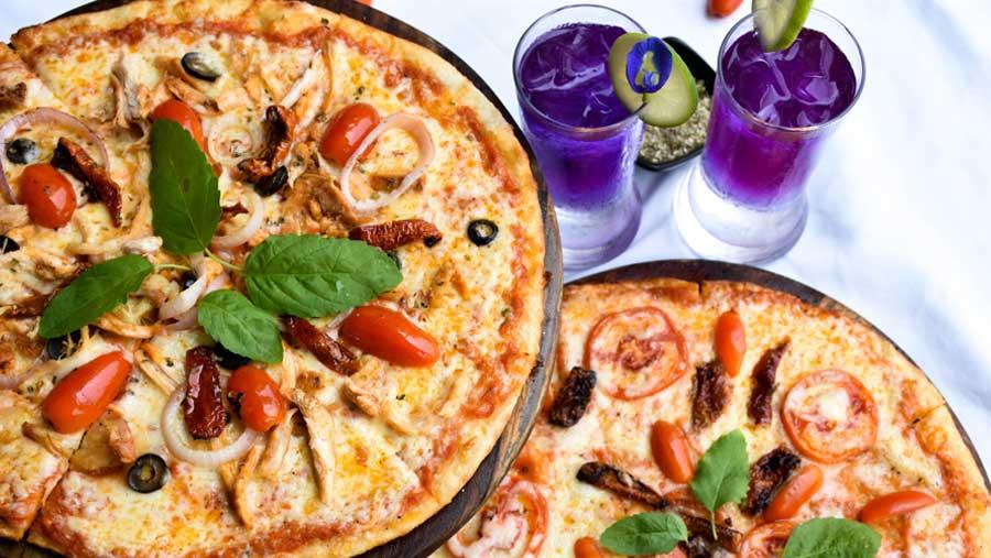 Buy one get one free pizza at Amari Dhaka
