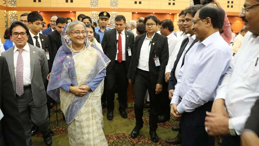PM joins post-budget dinner