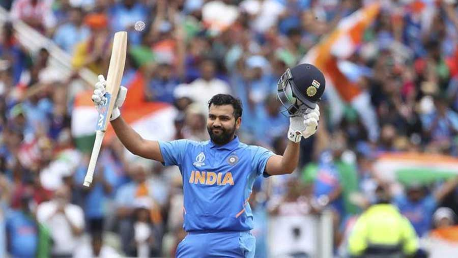 Rohit hits fifth ton as India finish top