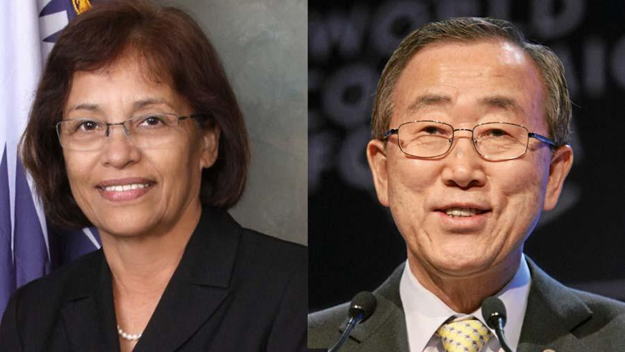 Marshall Island president Hilda, Ban Ki-moon due on Tuesday