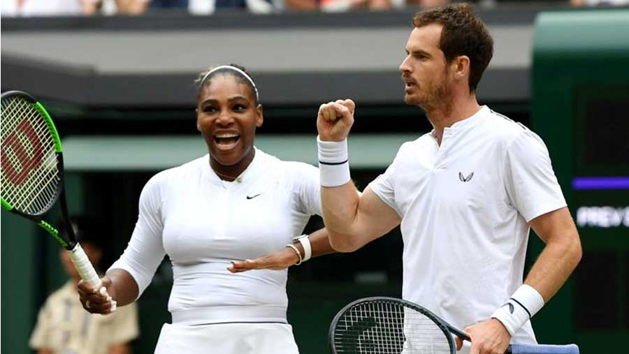 Murray and Serena wow Wimbledon again