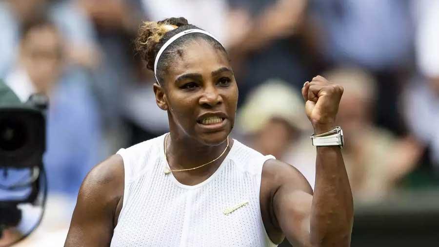 Serena reaches Wimbledon semifinals
