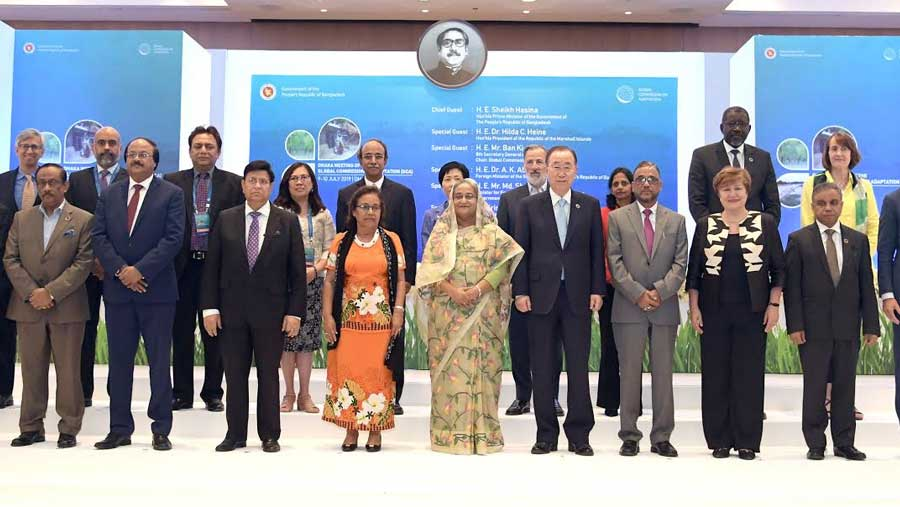 BD best teacher to learn about adaptation: Ban Ki-moon