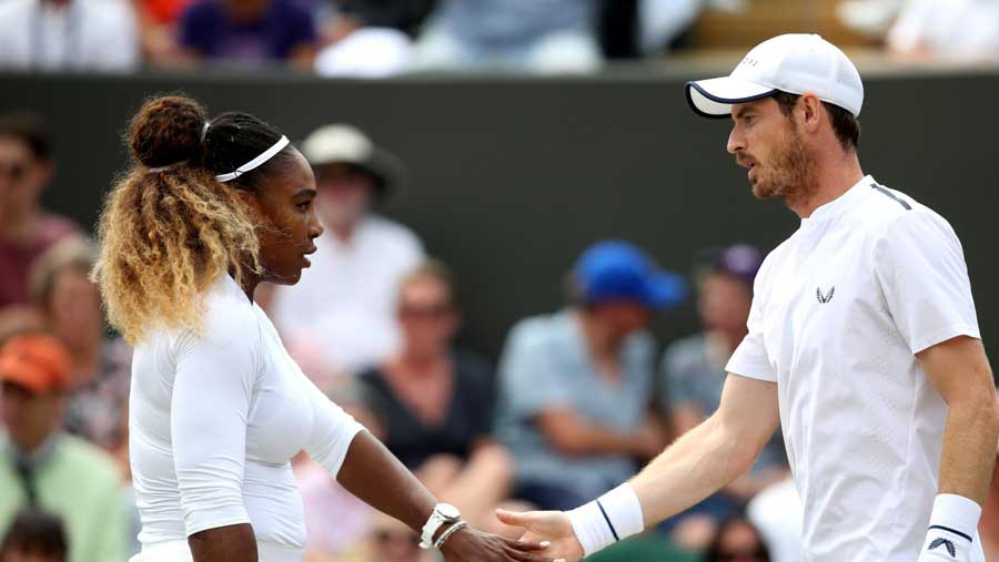 Serena and Murray lost in the mixed doubles