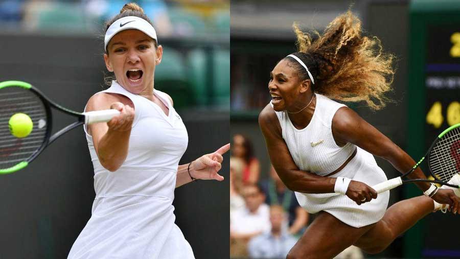 Wimbledon champ Halep up to No. 4, Serena No. 9
