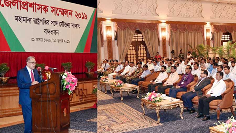 President asks DCs not to misuse power