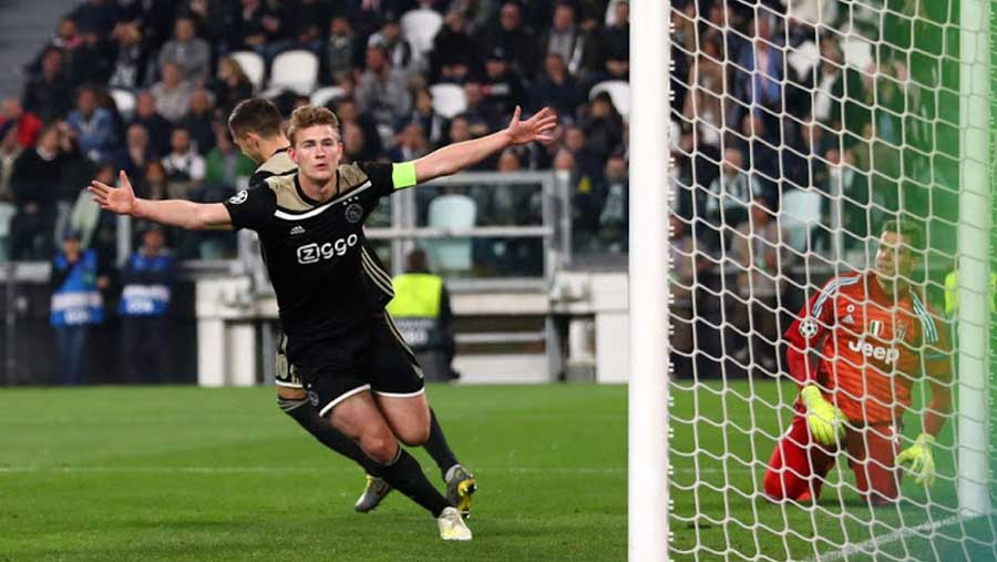 De Ligt agrees to join Juventus