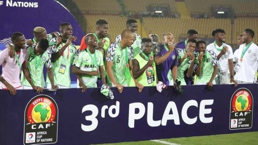 Ighalo strike gives Nigeria third place at AFCON