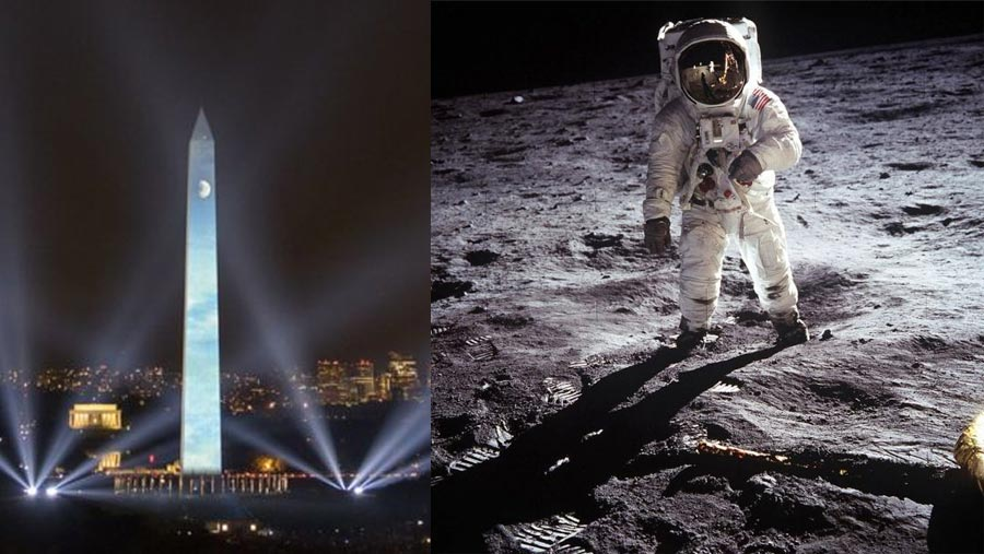 World marks 50th anniversary of moon landing