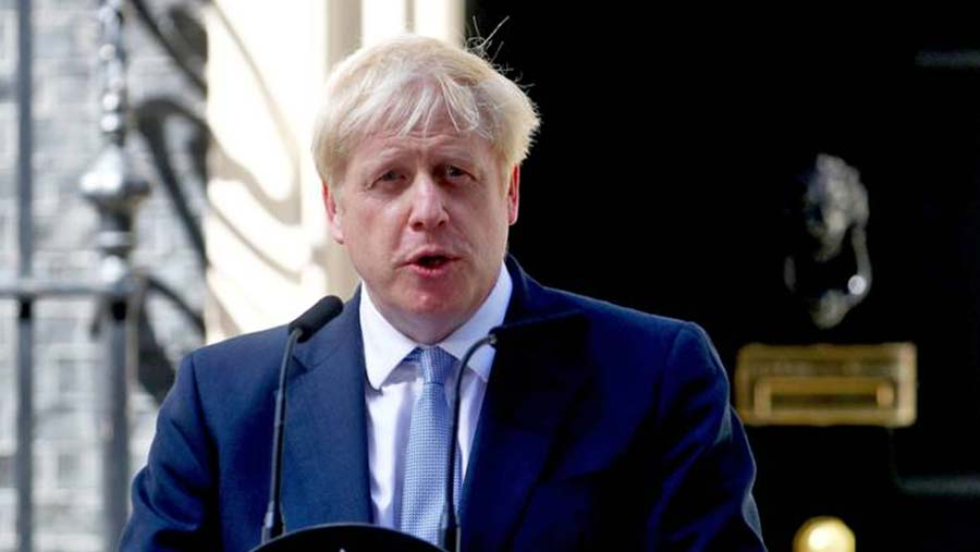 Boris Johnson overhauls cabinet on first day as PM