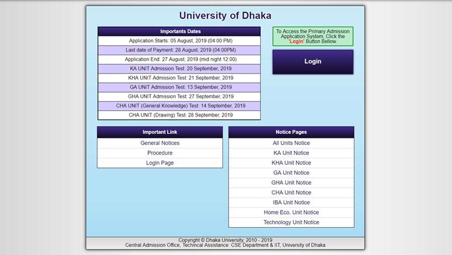 DU online admission process begins