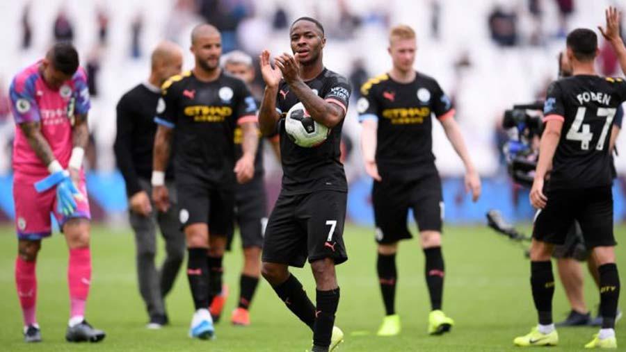 Man City 5 -0 West Ham United