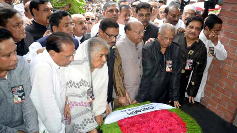 Awami League pays homage to Aug 21 grenade attack victims