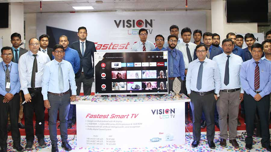 Vision Electronics launches voice control TV