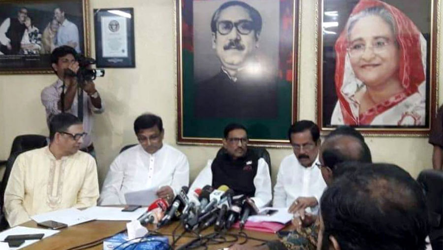 Upazila polls: Awami League rebels to be showcaused, says Quader