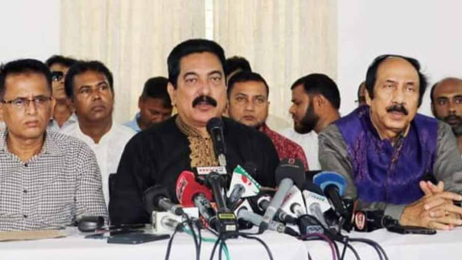 Jatiyo Party reach a 'consensus' to avert split