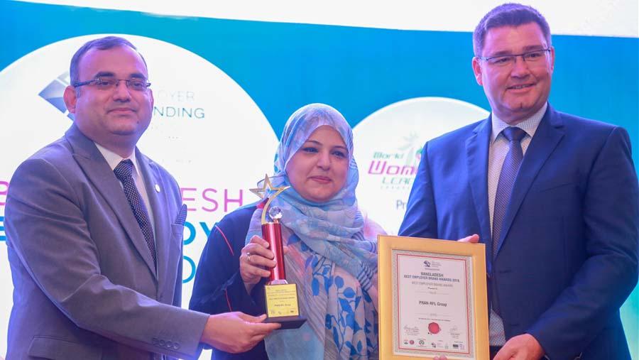 PRAN-RFL Group gets Best Employer Brand Award