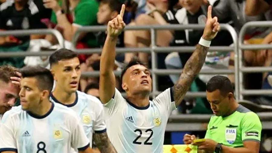 Argentina thrash Mexico 4-0 in friendly