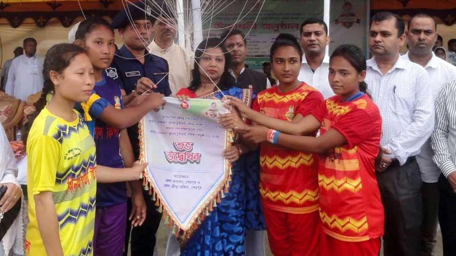 Bangabandhu-Bangamata Gold Cup begins in Sherpur