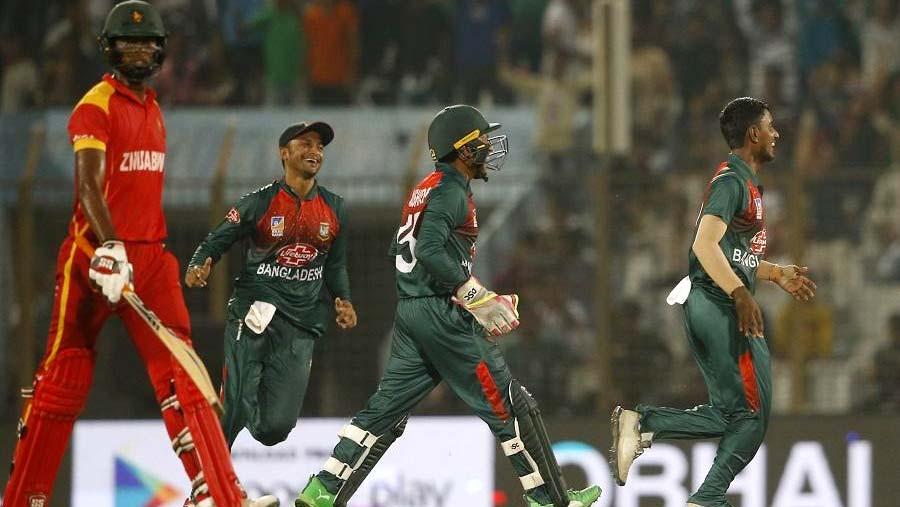 Tigers beat Zimbabwe, reach tri-nation T20 final