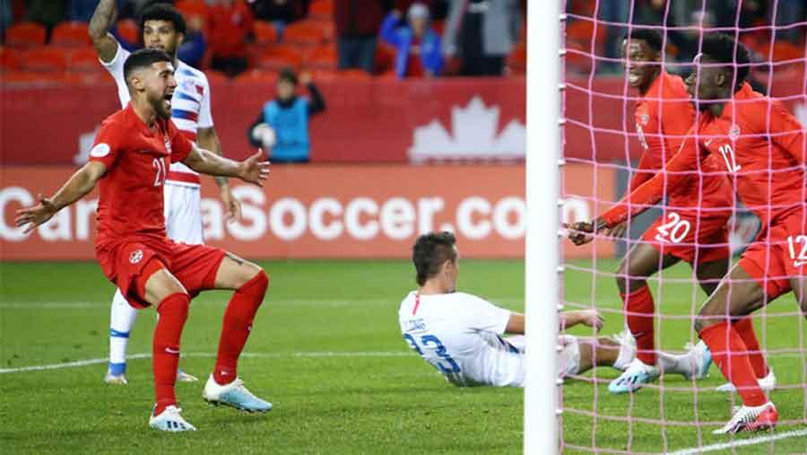 Canada men stun US 2-0