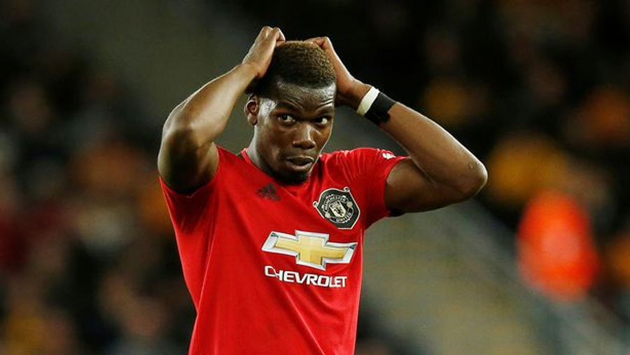 Pogba out of Man Utd's clash with Liverpool