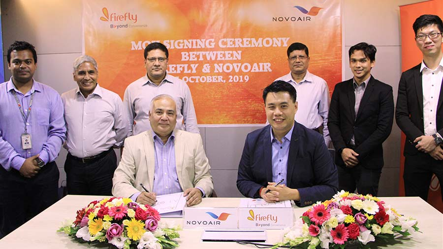 NOVOAIR signs MoU with Firefly