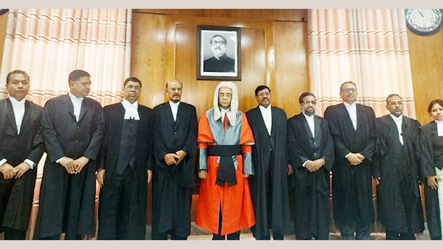Nine new additional judges sworn in