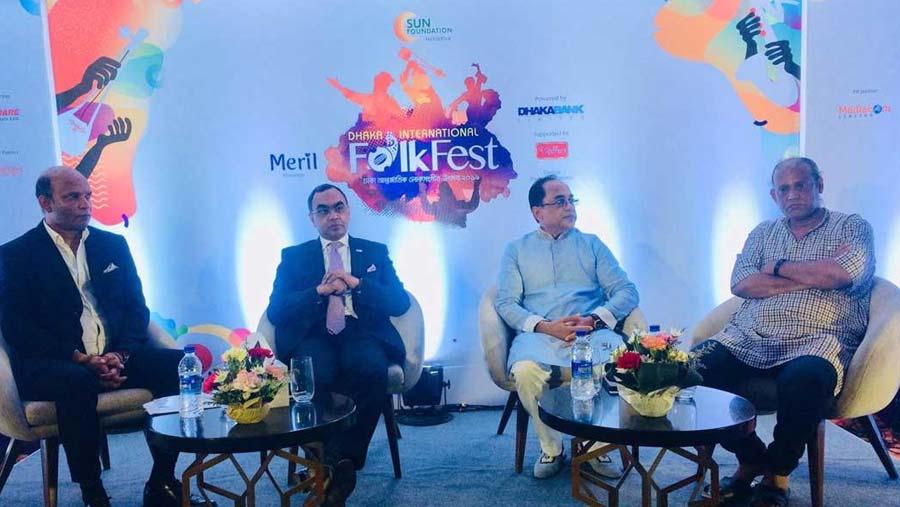 Dhaka Int'l Folk Fest starts Nov 14