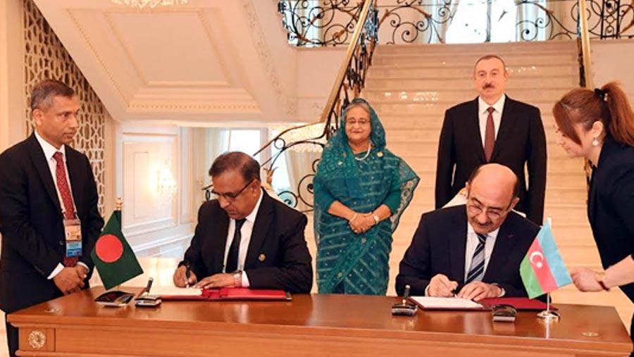 Dhaka, Baku sign agreement on cultural exchange