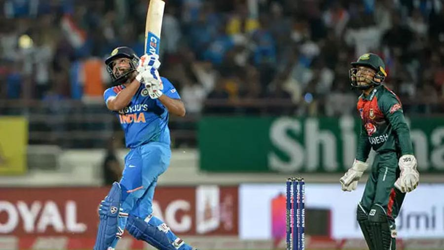 India beat Tigers to level T20 series