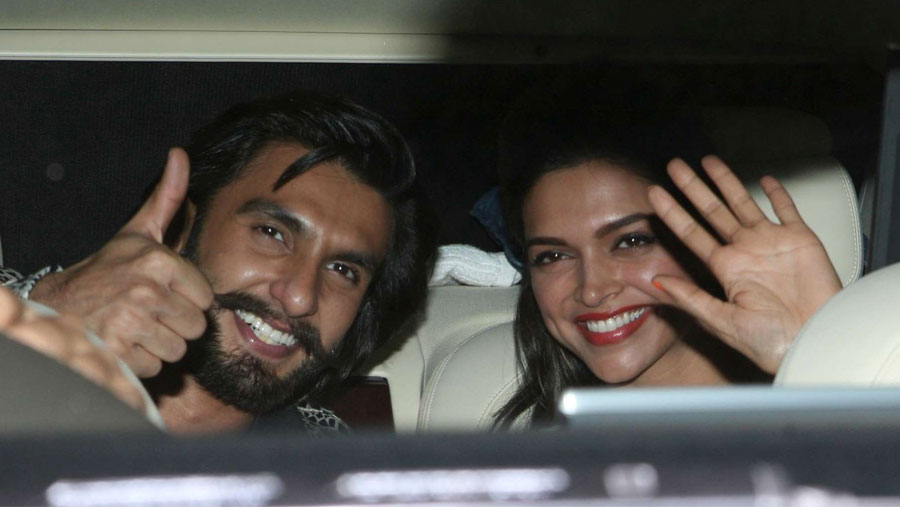 Ranveer and Deepika's anniversary plans 'revealed'