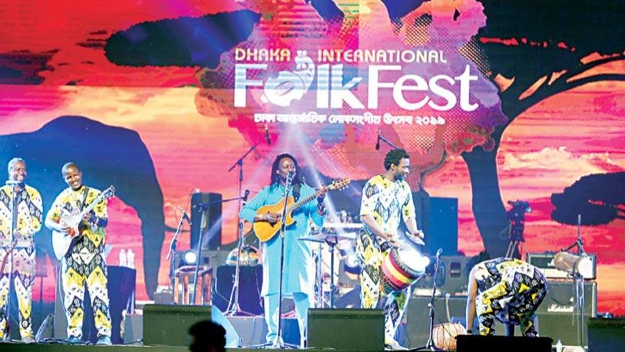 Dhaka Int'l Folk Fest 2019 in full swing