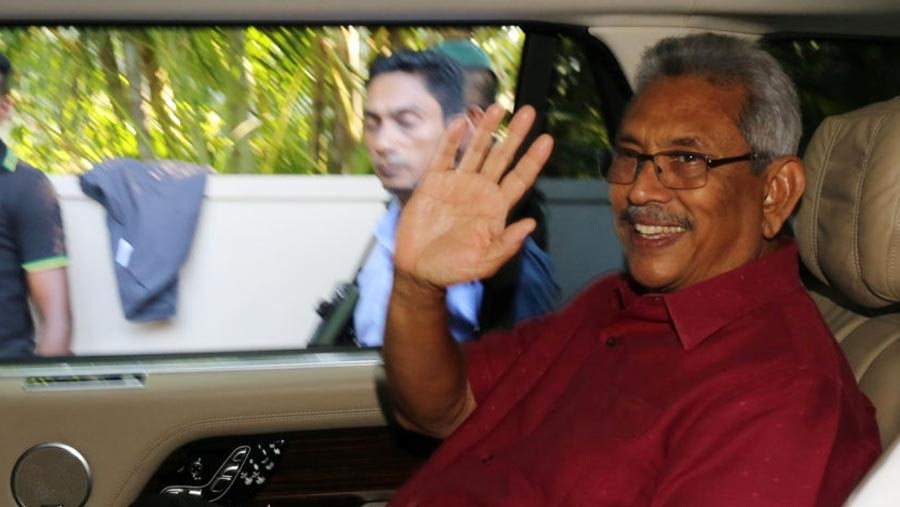 Ex-defence chief wins Sri Lankan presidency