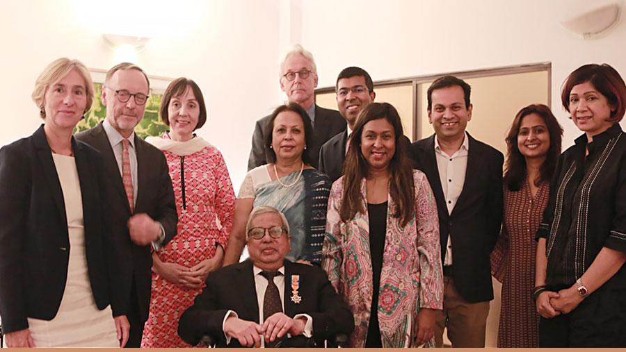 Sir Fazle Hasan Abed honoured with Dutch Knighthood