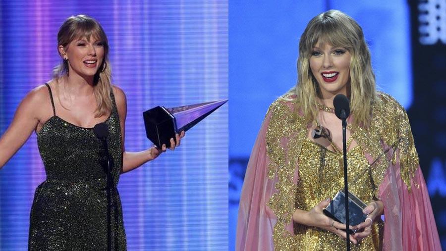 2019 AMA: Swift surpasses Jackson's record